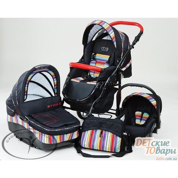 DPG Etno Paski детская универсальная коляска