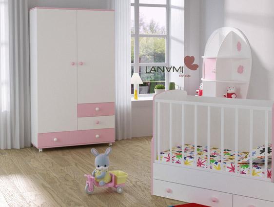 Lanami Vesna шкаф и кровать