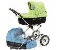 Детская универсальная коляска 2 в 1 Roan Rialto Chrome Синий  SC-06