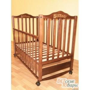 Детская кроватка Sonno П-KR 300 с ящиком