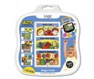 Детский комплект развивающих карточек K-Magic Логика!