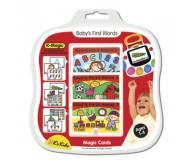 Детский комплект развивающих карточек K-Magic Первые слова!