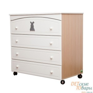 Детский комод MyBaby Glamour Bunny