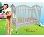 Детская кроватка софа Трия Элегант (1 ящик)