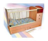 Детская кровать-трансформер Веселка Компакт 158