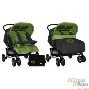 Детская прогулочная коляска для двойни Bertoni Twin