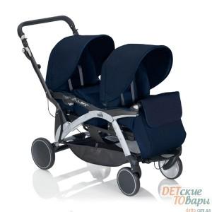 Детская прогулочная коляска для двойни Cam Twin Pulsar