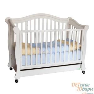 Детская кроватка-диван MyBaby Glamour Bunny
