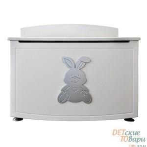 Детский ящик для игрушек MyBaby Glamour Bunny