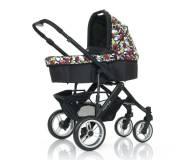 Детская универсальная коляска 2 в 1 ABC Design Mamba Amor Nero
