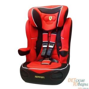 Детское автокресло группы 1-2-3 Nania I-Max SP Ferrari