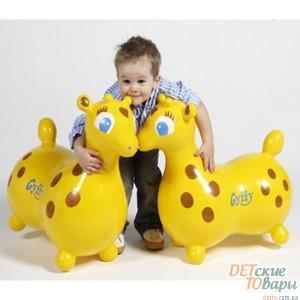Детский тренажер киндербол Ledraplastic Gymkids «Лошадка», «Жирафчик», «Морской Котик»