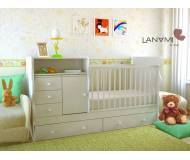 Детская кровать-трансформер Lanami Nola