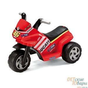 Детский трёхколёсный электромотоцикл Peg-Perego Mini Ducati (MD 0005)