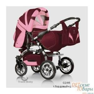 Детская универсальная коляска-трансформер Trans Baby Prado Lux