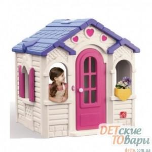 Детский игровой домик Step 3 Домик с сердечками (790100)