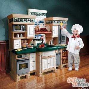 """Детская игровая кухня Step 2 """"Премиум"""" LS Deluxe Kitchen (724800)"""