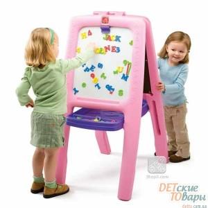Детский двусторонний мольберт Step 2 Easel For Two Pink 1 pk (799900)