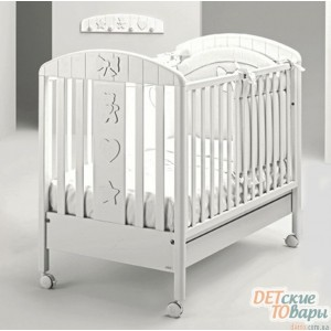 Детская кроватка Mibb Blanche