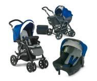 Детская универсальная коляска 3 в 1 Jane Nomad Formula Strata Синий P58