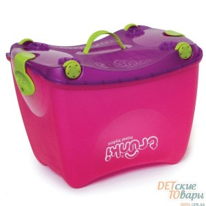 Детская коробка-каталка 4 в 1 Trunki Travel ToyBox