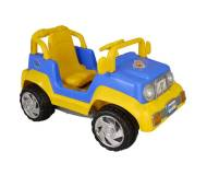 Детский педальный-автомобиль Pilsan Thunder Jeep (07802) Синий