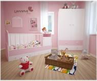 Детский шкаф-комод Lanami Sweet