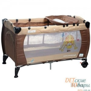Детская кроватка-манеж Caretero Medio Classic
