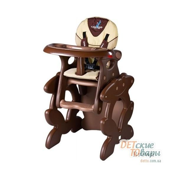 детский стульчик трансформер для кормления Caretero Primus купить
