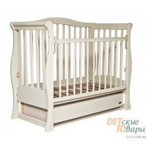 Детская кроватка Laska-M Viva (поперечный маятник)