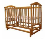 Детская кроватка Laska-M Чайка с маятником