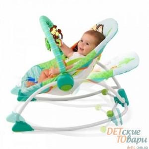 Детское кресло-шезлонг Зоопарк Bright Starts BS60127