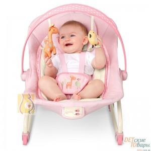"Детское кресло-качалка ""Жирафка"" Bright Starts BS60114"