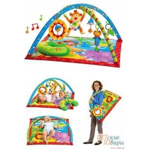 Детский развивающий коврик Tiny Love Gymini Monkey Island Обезьяний остров