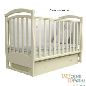 Детская кроватка  Верес Соня ЛД-6 (ящик + маятник)