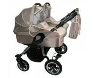 Детская универсальная коляска для двойни 2 в 1 Tako Jumper Duo