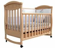 Детская кроватка Верес Соня ЛД-4 с резьбой