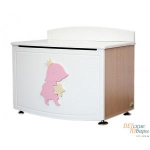 Детский ящик для игрушек MyBaby Rose Dreams