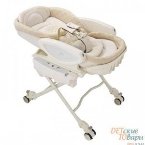 Детская колыбелька-стульчик автоматическая Aprica AUTO COCO CHI-NO DELUXE
