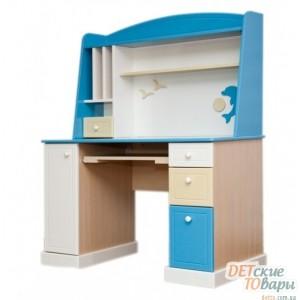 Детский компьютерный стол с надстройкой MyBaby Sea&Sky