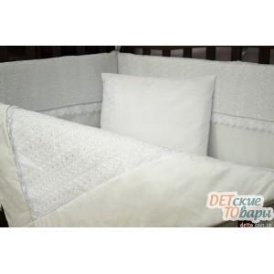 Детский постельный комплект Верес Ivy White  6 ед.