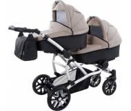 Детская универсальная коляска  2 в 1 для двойни Bebetto 42 (For two)