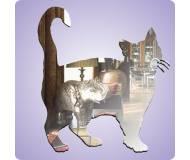 Детское зеркало Люстерко Усатый кот