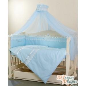 Детский постельный комплект Маленькая соня Маленький Принц  Swarovski 7 ед