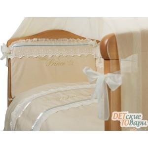 Детский постельный комплект Маленькая соня Маленький Принц Swarovski 6 ед