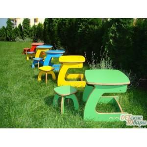 Детский столик и стульчик Mimi Карапуз