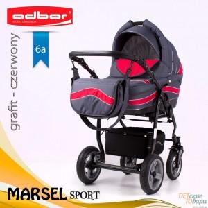 Детская универсальная коляска 3 в 1 Adbor MARSEL Sport