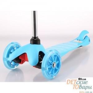 Детский самокат Trolo MINI Limited Светящиеся колеса