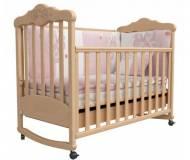 Детская кровать Верес Соня ЛД-11 с резьбой