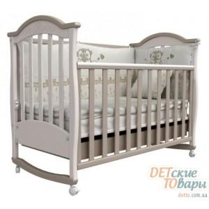 Детская кровать Верес Соня ЛД-3 с резьбой